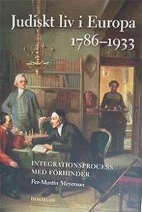 Bokomslag till Judiskt liv i Europa av Per-Martin Meyerson.
